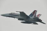nobu_32さんが、厚木飛行場で撮影したアメリカ海兵隊 F/A-18C Hornetの航空フォト(飛行機 写真・画像)