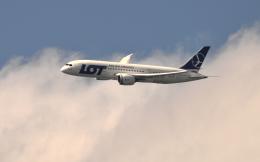 kenko.sさんが、成田国際空港で撮影したLOTポーランド航空 787-8 Dreamlinerの航空フォト(飛行機 写真・画像)