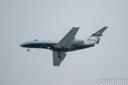 遠森一郎さんが、福岡空港で撮影したユタ銀行 525C Citation CJ4の航空フォト(飛行機 写真・画像)