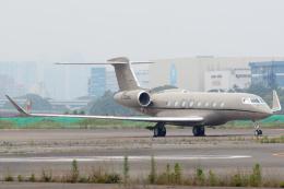 banshee02さんが、羽田空港で撮影したプライベートエア G650 (G-VI)の航空フォト(飛行機 写真・画像)