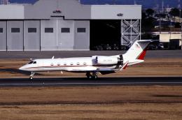 なごやんさんが、名古屋飛行場で撮影したCoca-Cola G-IV Gulfstream IVの航空フォト(飛行機 写真・画像)