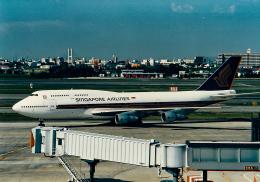 rokko2000さんが、伊丹空港で撮影したシンガポール航空 747-312の航空フォト(飛行機 写真・画像)