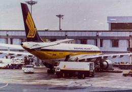 rokko2000さんが、シンガポール・チャンギ国際空港で撮影したシンガポール航空 A300B4-203の航空フォト(飛行機 写真・画像)