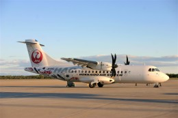 乗り物大好きライター・ヨッシーさんが、函館空港で撮影した北海道エアシステム ATR-42-600の航空フォト(飛行機 写真・画像)