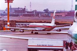 rokko2000さんが、伊丹空港で撮影したケニア航空 707-351Cの航空フォト(飛行機 写真・画像)