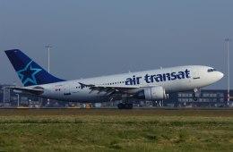 パール大山さんが、アムステルダム・スキポール国際空港で撮影したエア・トランザット A310-308の航空フォト(飛行機 写真・画像)