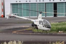 4engineさんが、東京ヘリポートで撮影した日本フライトセーフティ R22 Beta IIの航空フォト(飛行機 写真・画像)