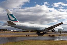KEEBIRDさんが、名古屋飛行場で撮影したキャセイパシフィック航空 777-367の航空フォト(飛行機 写真・画像)