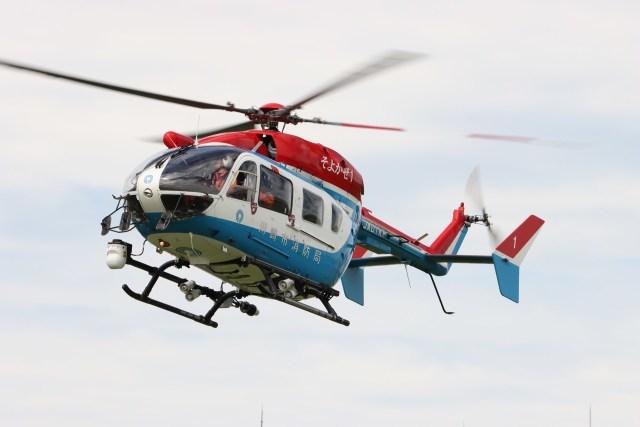 4engineさんが、東京ヘリポートで撮影した川崎市消防航空隊 BK117C-2の航空フォト(飛行機 写真・画像)
