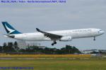 Chofu Spotter Ariaさんが、成田国際空港で撮影したキャセイパシフィック航空 A330-342Xの航空フォト(飛行機 写真・画像)