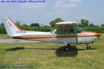 Chofu Spotter Ariaさんが、大利根飛行場で撮影した日本個人所有 172P Skyhawk IIの航空フォト(飛行機 写真・画像)
