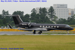 Chofu Spotter Ariaさんが、成田国際空港で撮影したTVPX AIRCRAFT SOLUTIONS G-V-SP Gulfstream G550の航空フォト(飛行機 写真・画像)
