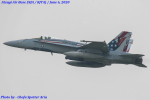Chofu Spotter Ariaさんが、厚木飛行場で撮影したアメリカ海兵隊 F/A-18C Hornetの航空フォト(飛行機 写真・画像)