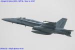 Chofu Spotter Ariaさんが、厚木飛行場で撮影したアメリカ海軍 F/A-18C Hornetの航空フォト(飛行機 写真・画像)
