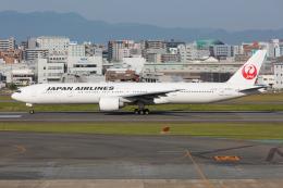 (新)ふぁんとむ改さんが、福岡空港で撮影した日本航空 777-346/ERの航空フォト(飛行機 写真・画像)