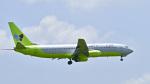 パンダさんが、成田国際空港で撮影したジンエアー 737-86Nの航空フォト(飛行機 写真・画像)