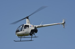 ブルーさんさんが、東京ヘリポートで撮影した日本フライトセーフティ R22 Betaの航空フォト(飛行機 写真・画像)