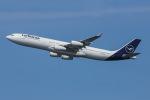 よんろくさんが、羽田空港で撮影したルフトハンザドイツ航空 A340-313Xの航空フォト(飛行機 写真・画像)