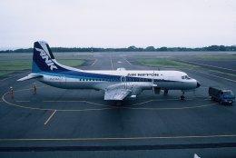空旅さんが、大島空港で撮影したエアーニッポン YS-11A-500の航空フォト(飛行機 写真・画像)