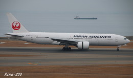 RINA-281さんが、中部国際空港で撮影した日本航空 777-246/ERの航空フォト(飛行機 写真・画像)
