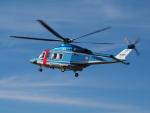 ここはどこ?さんが、札幌飛行場で撮影した北海道警察 AW139の航空フォト(飛行機 写真・画像)