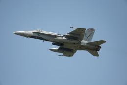 Takeshi90ssさんが、横田基地で撮影したアメリカ海軍 F/A-18C Hornetの航空フォト(飛行機 写真・画像)