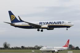 安芸あすかさんが、ダブリン空港で撮影したライアンエア 737-8ASの航空フォト(飛行機 写真・画像)