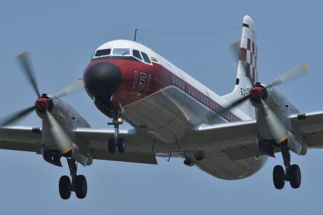 sepia2016さんが、下総航空基地で撮影した航空自衛隊 YS-11-103FCの航空フォト(飛行機 写真・画像)