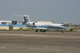 kahluamilkさんが、羽田空港で撮影した海上保安庁 G-V Gulfstream Vの航空フォト(飛行機 写真・画像)