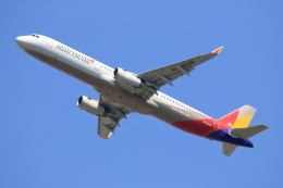 walker2000さんが、成田国際空港で撮影したアシアナ航空 A321-231の航空フォト(飛行機 写真・画像)