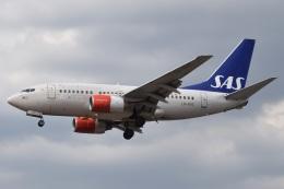 MOR1(新アカウント)さんが、ロンドン・ヒースロー空港で撮影したスカンジナビア航空 737-683の航空フォト(飛行機 写真・画像)