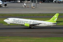 shibu03さんが、羽田空港で撮影したソラシド エア 737-4Y0の航空フォト(飛行機 写真・画像)