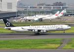じーく。さんが、羽田空港で撮影したルフトハンザドイツ航空 A340-313Xの航空フォト(飛行機 写真・画像)
