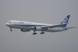 神宮寺ももさんが、那覇空港で撮影した全日空 767-381/ERの航空フォト(飛行機 写真・画像)