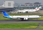 じーく。さんが、羽田空港で撮影したガルーダ・インドネシア航空 A330-941の航空フォト(飛行機 写真・画像)