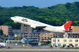 まいけるさんが、福岡空港で撮影したJALエクスプレス 737-446の航空フォト(飛行機 写真・画像)