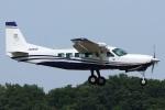 =JAかみんD=さんが、調布飛行場で撮影した共立航空撮影 208 Caravan Iの航空フォト(飛行機 写真・画像)