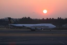 ドリームクルーザーさんが、成田国際空港で撮影したシンガポール航空 747-412の航空フォト(飛行機 写真・画像)