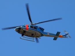 FT51ANさんが、岐阜県防災航空センターで撮影した岐阜県警察 412EPの航空フォト(飛行機 写真・画像)