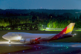 K.Sさんが、成田国際空港で撮影したアシアナ航空 747-48EM(BDSF)の航空フォト(飛行機 写真・画像)