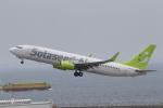 ANA744Foreverさんが、中部国際空港で撮影したソラシド エア 737-86Nの航空フォト(飛行機 写真・画像)
