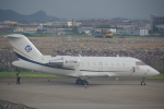 JA8037さんが、寧波櫟社国際空港で撮影した中国企業所有 CL-600-2B16 Challenger 605の航空フォト(飛行機 写真・画像)