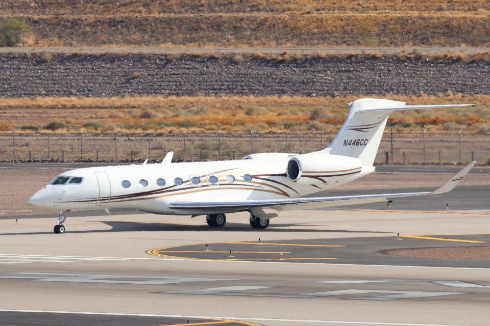 キャスバルさんのコムエアー Gulfstream G650 (G-VI) (N446CC) 航空フォト