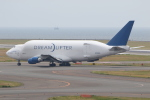 ANA744Foreverさんが、中部国際空港で撮影したボーイング 747-409(LCF) Dreamlifterの航空フォト(飛行機 写真・画像)