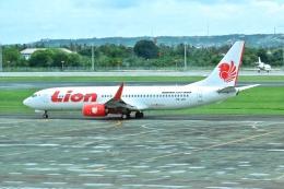 sonnyさんが、デンパサール国際空港で撮影したライオン・エア 737-8GPの航空フォト(飛行機 写真・画像)