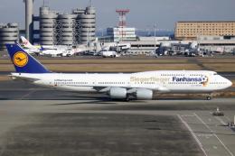 ▲®さんが、羽田空港で撮影したルフトハンザドイツ航空 747-830の航空フォト(飛行機 写真・画像)