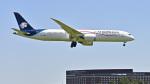 パンダさんが、成田国際空港で撮影したアエロメヒコ航空 787-9の航空フォト(飛行機 写真・画像)