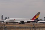 KAZFLYERさんが、成田国際空港で撮影したアシアナ航空 A380-841の航空フォト(飛行機 写真・画像)