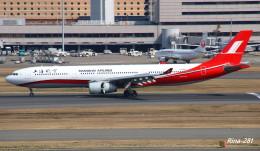 RINA-281さんが、羽田空港で撮影した上海航空 A330-343Xの航空フォト(飛行機 写真・画像)