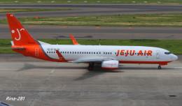 RINA-281さんが、中部国際空港で撮影したチェジュ航空 737-8Q8の航空フォト(飛行機 写真・画像)